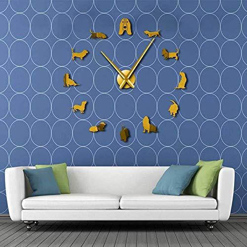 Horloge murale bricolage décoration de la maison cadeau...