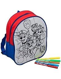Preisvergleich für Speelgoed PWP-4253 - Paw Patrol Farbe Ihren Eigenen Rücksack, Malset/Zubehör