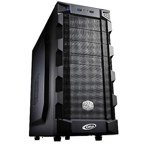 ONE Silent Gaming-PC Kaby Lake Core i5-7500, 4x 3.40 GHz (Quadcore)   16 GB DDR4-RAM   2000 GB HDD   Mainboard MSI Z270-A Pro   Cardreader   DVD-Brenner   2 GB NVIDIA GeForce GTX 1050 (HDMI, DVI, DP)   7.1 Sound   GigaBit-LAN  USB