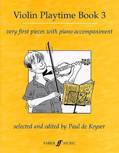 Preisvergleich Produktbild Violine Playtime Buch 3. Noten für Violine, Klavierbegleitung