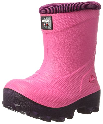 Viking Unisex-Kinder Frost Fighter Schneestiefel, Pink (Magenta/Purple), 33 EU