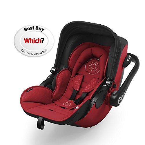 Kiddy - Silla de auto evoluna i-size (0 a 83 cm.) rojo - grupo 0+