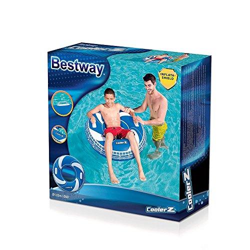 Bestway CoolerZ Schwimmring Spirale, ab 10 Jahren 102 cm