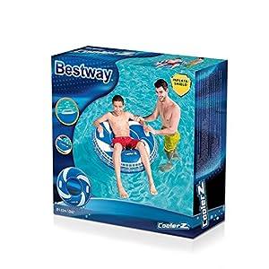 Bestway 36093 Flotador para Piscina y Playa Rojo Vinilo - Flotadores para Piscina y Playa (Rojo, Flotador, Vinilo, 10 año(s), 102 cm, 0,2 mm)