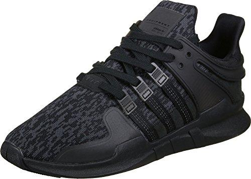 adidas EQT Support ADV, Chaussures de Sport Mixte Adulte Noir (Negbas/Negbas/Versub)