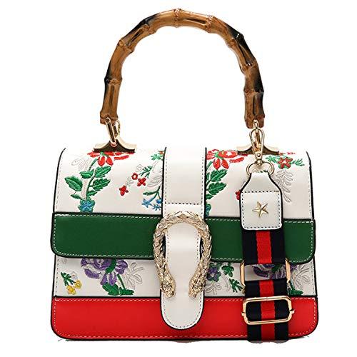 0722a6f9f799a Neue Kuriertasche Stickerei Umschlag Tasche Damen Umhängetasche