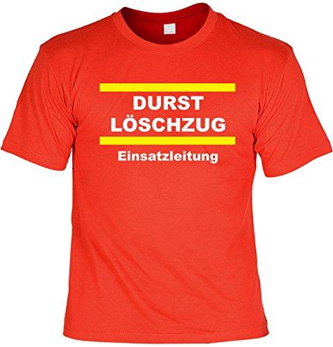 T-Shirt - Durst Löschzug - lustiges Karneval Shirt ideal als Geschenk für (Sa Alternative Kostüme 2)