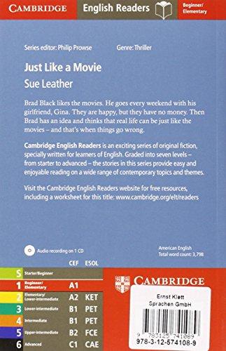 Just like a Movie: Englische Lektüre für das 1., 2., 3. Lernjahr. Paperback with downloadable audio