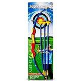 Pfeil- und Bogen-Set mit 3 Pfeilen 58 cm