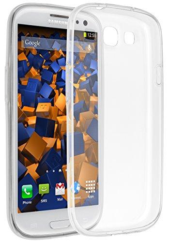 mumbi UltraSlim Hülle für Samsung Galaxy S3 / S3 Neo Schutzhülle transparent (Ultra Slim - 0.55 mm)