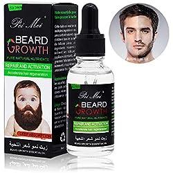 Huile à Barbe,Duvina Beard Oil, Baume pour Barbe Homme, Soins de Barbe, Huile à barbe,huiles essentielles haut de gamme pour la santé de la barbe,du visage et de la peau,Barbe et Moustache Coiffant (oil)