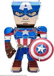 Metal Earth MEM001 Avengers Capitán América Modelo de Metal
