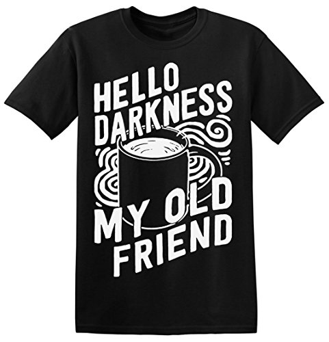 Hello Darkness My Old Friend Men's T-shirt Small (Boh T-shirt Mens)