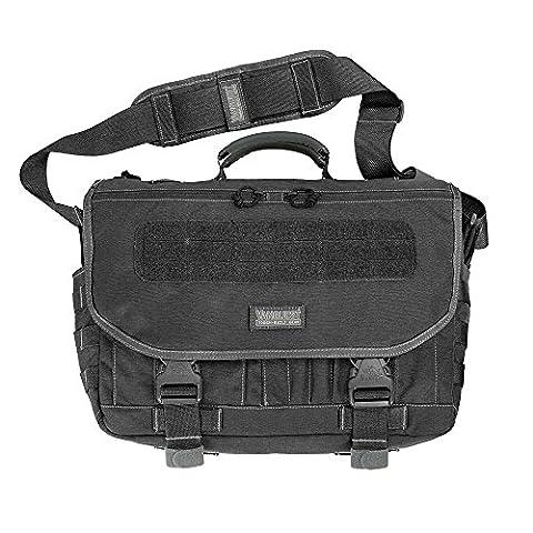Vanquest ENVOY 3.0 Messenger Bag (Black)
