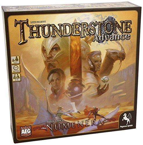 Pegasus Spiele 51041G - Thunderstone Advance, Gioco da tavolo - versione: Numenera (utilizzabile come espansione o gioco a sé stante) [lingua tedesca]