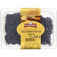 Gourmet Pasas deshidratadas sin semillas - Paquete de 8 x 250 gr - Total: 2000