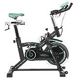 Cecotec Bicicletta da Spinning Extreme 25. 25kg Volante inerzia. Professionale. Cardiofrequenzimetro. Schermo LCD. Resistenza variabile. Stabilizzatori. silencefit.