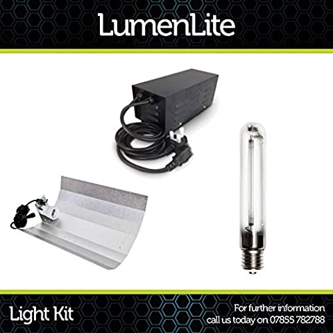 Hydroponics Growing 400w watt HPS Grow Light Full Kit with