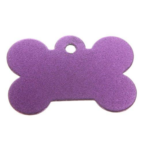 Double Sides Bone Pet ID Tag Custom Dog Personalized - Random Color