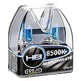 Gread H8 Box Halogen Lampen in Xenon Optik Lights | Super White | 8500k 35W | E-Prüfzeichen | 100% Passgenauigkeit & Lange Lebensdauer