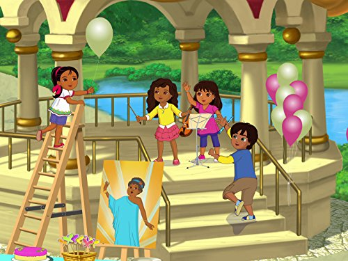 Dora rettet das Opernland