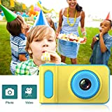 Tawcal Kids Digital Camera Children SLR Video Recorder Mini Toddler Cartoon Cute DSLR Cameras 2.0 inch TFT LCD Color Display 3.0 Mega Pixels Toy Gift Travel Sport Outdoors