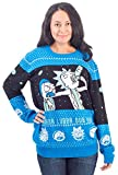 Rick and Morty Wubba Lubba Spaceship Christmas Sweater
