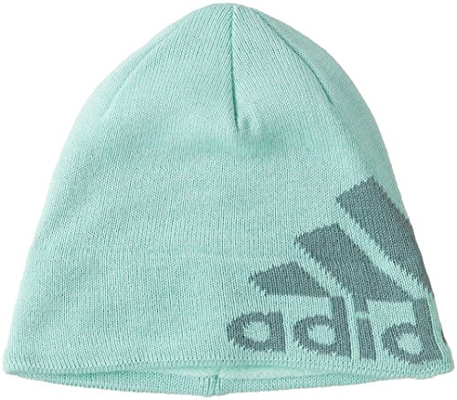 adidas Knit Logo Mütze, Ice Green/Black/Vapour Steel, S