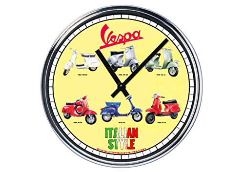 Reloj Acero Vespa (3. ª versión)