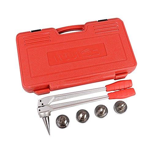 IWISS PEX Rohr Expander Manuelle Werkzeug-Kits mit 16 mm, 20 mm, 25 mm und 32 mm Erweiterung Köpfe zusammengehöriges Uponor und Milwaukee Werkzeuge(2 Farben/Pakete versendet zufällig) (20 Milwaukee Electric Tools)