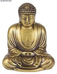 Buddha Amitabha - Buddha aus Kunststein