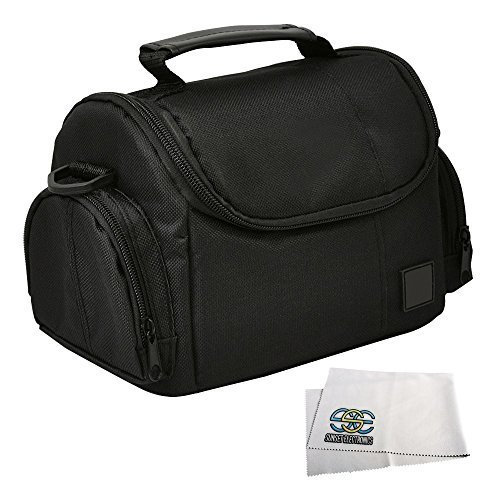 Medium Soft Padded Digital SLR Camera Travel Case/Bag with Clip-on Detachable and Adjustable Strap for Canon PowerShot SX400 IS, SX500 IS, SX510 HS, SX520 HS, SX50 HS, SX60 HS, G1 X, G7 X, SX150 IS, SX160, SX170, G12, G13, G14, G15, G16, SX30 IS, EOS M  available at amazon for Rs.2049