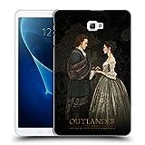 Head Case Designs Offizielle Outlander Claire & Jamie Gemälde Portraits Ruckseite Hülle für Samsung Galaxy Tab A 10.1 (2016)