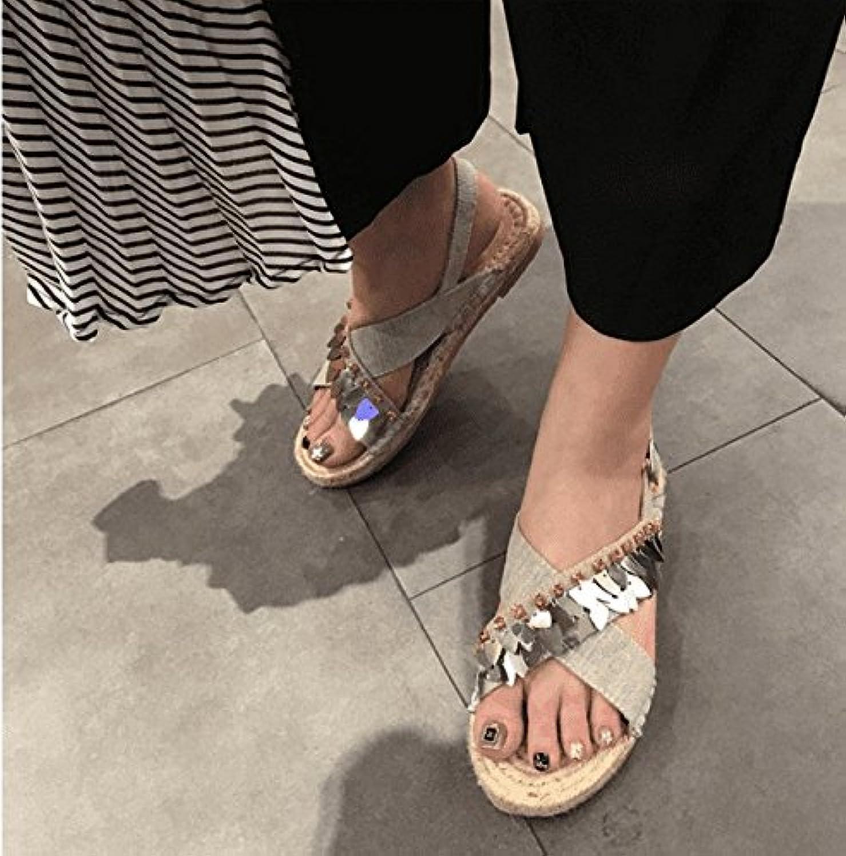 Women's sandals Sandalias de tacón Alto para Mujer de Verano con Correas de Diamantes de imitación con talón Alto... -