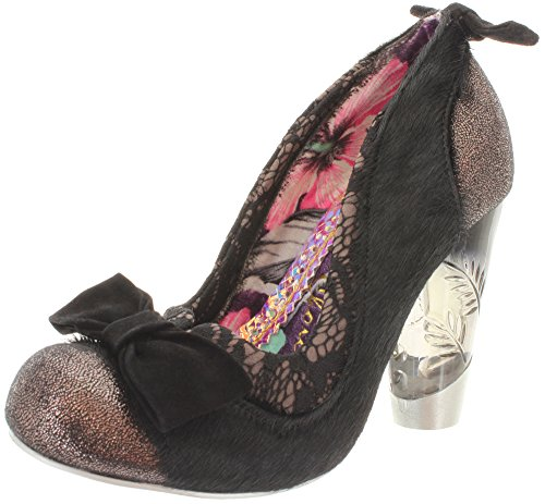 Irregular choice, escarpins femme fLAME 3801-53 fROZEN Noir - Noir