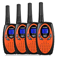 FLOUREON Walkie Talkies for Kids, 2-way Radio for Children