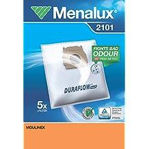 Menalux 2100 Duraflow - Bolsas para aspiradoras Moulinex y Privileg (5 unidades)