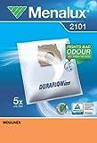 Menalux 2101 Sacchetti per aspirapolvere, confezione da 5