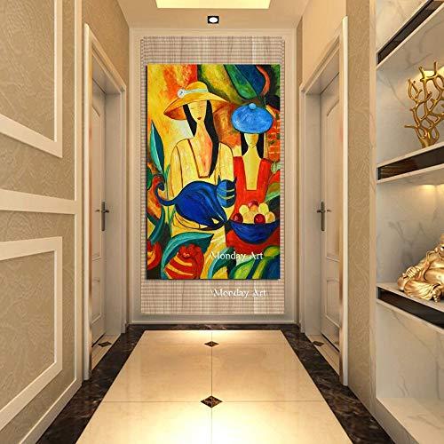 Picasso Berühmte Meistverkaufte Moderne Reine Handgemalte Leinwand Malerei Wandbilder for Hauptdekoration Ölgemälde Abbildung Arbeit Ölgemälde (Size (Inch) : 70x100cm)