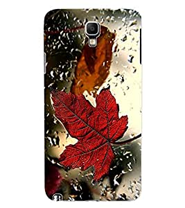 ColourCraft Lovely Leaf in Rain Design Back Case Cover for SAMSUNG GALAXY NOTE 3 NEO DUOS N7502