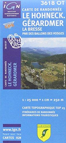Le Hohneck / Gérardmer / La Bresse gps (Ign Map)