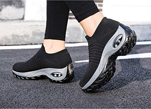 Zapatos de Trabajo Muy c/ómodos para Trabajos de hosteler/ía y no resbalan-UniseZapatos Casuales Muy c/ómodos para Trabajos de hosteler/ía y no resbalan-Unisex-adultox-Adulto