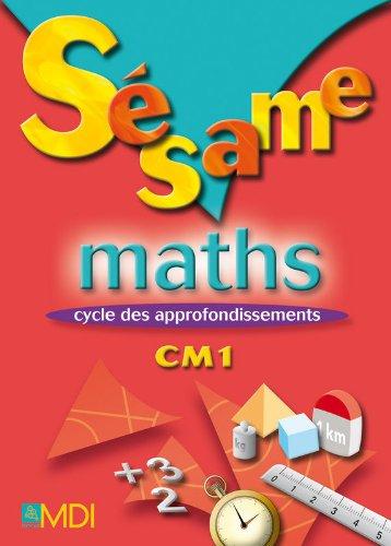 Sésame Maths CM1 par Nadyne Callens, Camille Gryffon