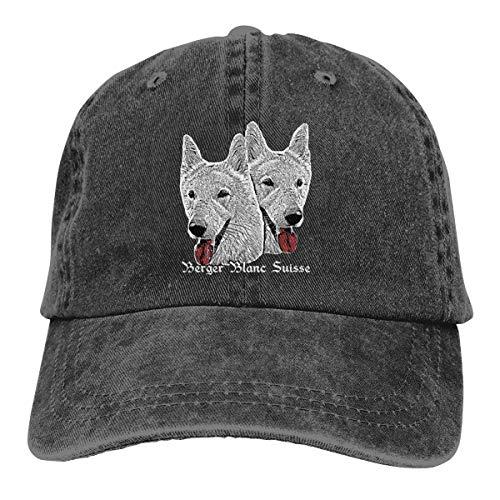 Schäferhund Hund Hund Kopf Hund Hund Hund Hund Hund Doge Hund Baseball Cap Cowboy Cap Verstellbare Mode Hip Hop Jeans Hut für Männer Frauen