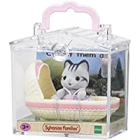 Sylvanian Families Cat in Cradle Baby Carry Case