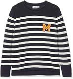 Mexx Jungen Pullover, Mehrfarbig (Sky Captain/Marshmallow 300186), 104 (Herstellergröße: 98-104)