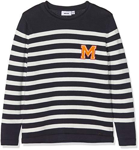 Mexx Jungen Pullover, Mehrfarbig (Sky Captain/Marshmallow 300186), 164 (Herstellergröße: 158-164)