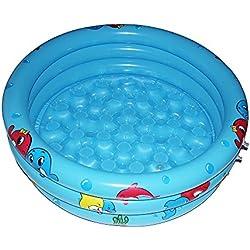 Piscinas Hinchables para Bebés Authye Piscina Inflable Avanzada Durable Amistosa PVC 36 x 10 Pulgadas Portable Outdoor Piscina para Niños al Aire Libre Bañera para Niños Juego acuático Pelota Piscina
