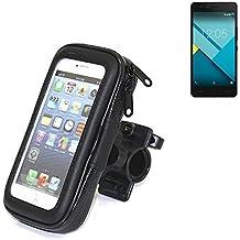 Montaje de la bici para BQ Aquaris M5, montaje del manillar para smartphones / teléfonos móviles, de aplicación universal. Conveniente para la bicicleta, motocicleta, quad, moto, etc. repelente al agua, a prueba de salpicaduras a prueba de lluvia, sostenedor del teléfono móvil de la bicicleta. | Bastidores de bicicletas Bikeholder bicicletas Navi titular titular GPS Pannier BQ Aquaris M5 manillar montar la caja al aire libre