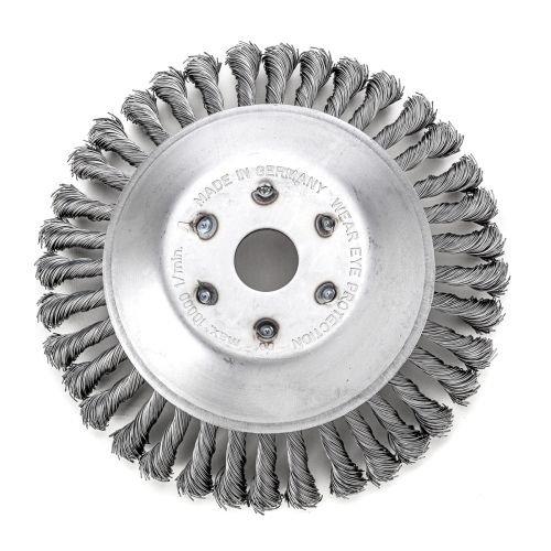 47625101 Lessmann Brosse de direction conique 200 mm/36 z Fleur Lisse sth 0,50 mm-diamètre 25,4 mm